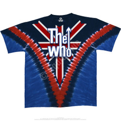 Image for The Who Long Live Rock Tie-Dye T-Shirt