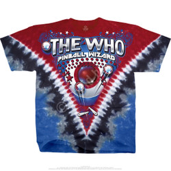 Image for The Who Bally Table King Tie-Dye T-Shirt