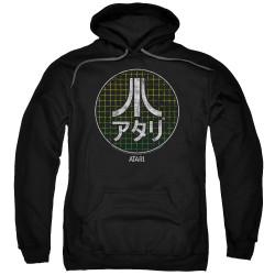 Image for Atari Hoodie - Green Grid Kanji Logo