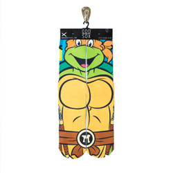 Image for Teenage Mutant Ninja Turtle Socks - Michelangelo