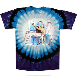 Image for Led Zeppelin - Swan Song Tie-Dye T-Shirt