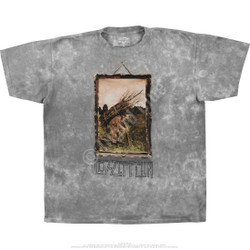 Image for Led Zeppelin - Man With Sticks Tie-Dye T-Shirt