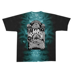 Image for Led Zeppelin - Electric Magic Tie-Dye T-Shirt