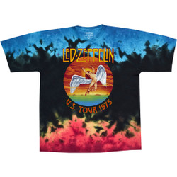 Image for Led Zeppelin - Icarus 1975 Tie-Dye T-Shirt