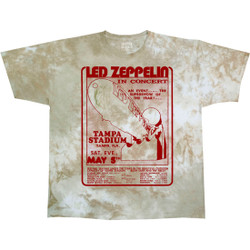 Image for Led Zeppelin - In Concert Tie-Dye T-Shirt