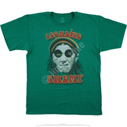 Image for The Three Stooges - Legalize Shemp Green T-Shirt