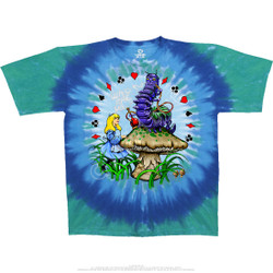 Image for Alice And Caterpillar Tie-Dye T-Shirt