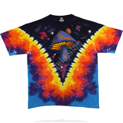 Image for Space Shrooms Tie-Dye T-Shirt