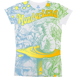 Image for Go Ask Alice White Juniors Long Length T-Shirt