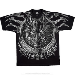 Image for Dragon Catcher Black T-Shirt