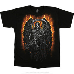 Image for Fire Reaper Black T-Shirt