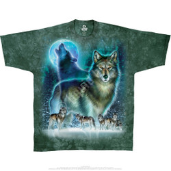 Image for Wolf Moon Tie-Dye T-Shirt