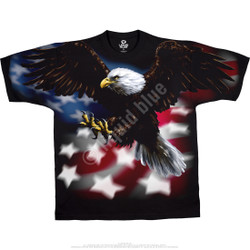 Image for American Eagle Black T-Shirt