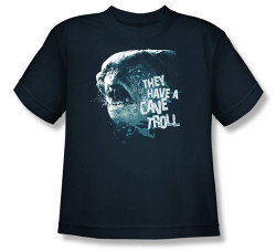 Image for Lord of the Rings Youth T-Shirt -They Have a Cave Troll
