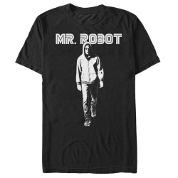 Image for Mr. Robot Darkness - White T-Shirt