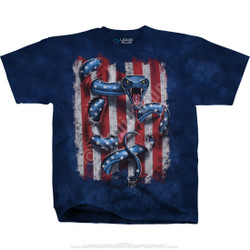 Image for American Serpent Tie-Dye T-Shirt