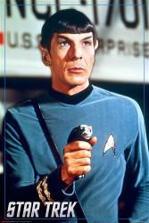 Star Trek Poster - Spock Image 1