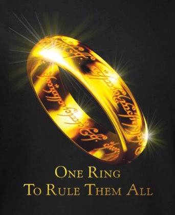 Image result for one ring to rule them all