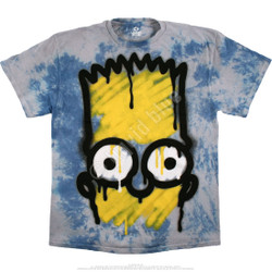 Image for Simpsons El Barto Tie-Dye T-Shirt