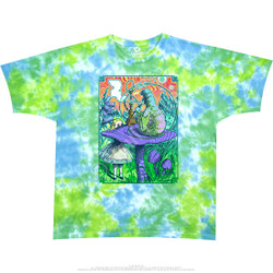 Image for Wonderland Tie-Dye T-Shirt