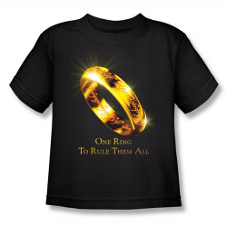 Image for Lord of the Rings Kids T-Shirt - One Ring to Rule Them All