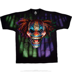 Image for Evil Clown Black T-Shirt