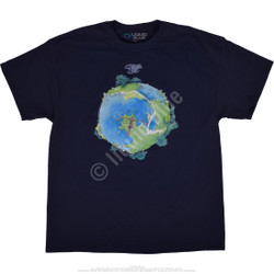 Image for Yes Fragile Navy T-Shirt