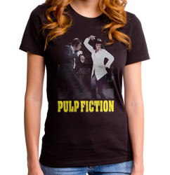 Image for Pulp Fiction Girls T-Shirt - Dance Off