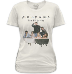 Image for Friends Girls T-Shirt - Bathtub Party