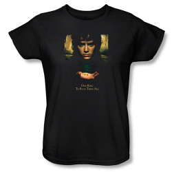 Image for Lord Woman's T-Shirt - Frodo One Ringsto Rule Them All