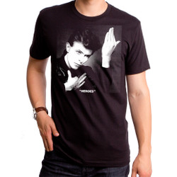Image for David Bowie T-Shirt - Heroes