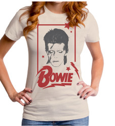 Image for David Bowie Girls T-Shirt - Aladdin Frame