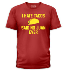 Image for I Hate Tacos T-Shirt