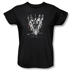 Image for Lord of the Rings Woman's T-Shirt - Big Sauron Head