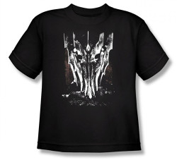 Image for Lord of the Rings Youth T-Shirt -Big Sauron Head