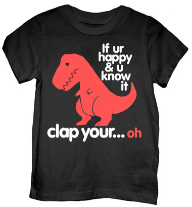 Image for If UR Happy and You Know It... Toddler T-Shirt
