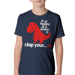 Image for If UR Happy & You Know It... Youth T-Shirt