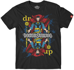 Image for Doctor Strange Playing Card Ambigram T-Shirt