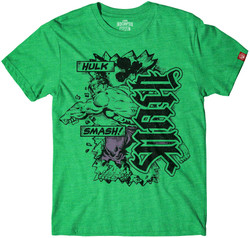 Image for The Hulk Smash Ambigram T-Shirt