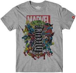 Image for Marvel Family Forever Ambigram T-Shirt