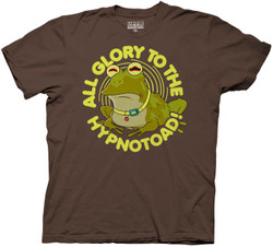 Image for Futurama T-Shirt - All Glory to the Hypnotoad