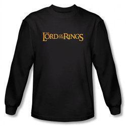 Image for Lord of the Rings Logo Long Sleeve T-Shirt