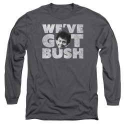Image for Revenge of the Nerds Long Sleeve Shirt - We've Got Bush