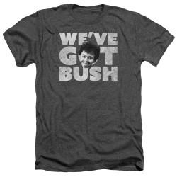Image for Revenge of the Nerds Heather T-Shirt - We've Got Bush