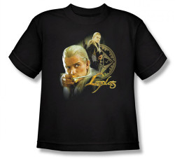 Image for Lord of the Rings Youth T-Shirt -Legolas