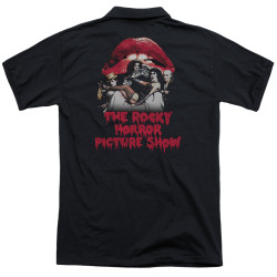 Image for Rocky Horror Picture Show Polo Shirt - Casting Throne