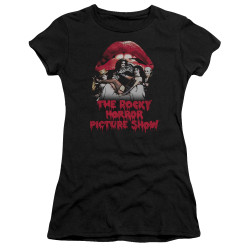 Image for Rocky Horror Picture Show Juniors Premium Bella T-Shirt - Casting Throne