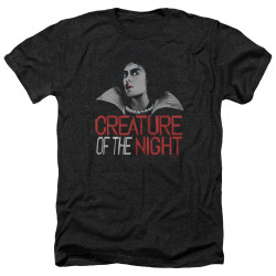 Image for Rocky Horror Picture Show Heather T-Shirt - Creature of the Night