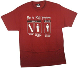 Image for How to Kill a Vampire T-Shirt
