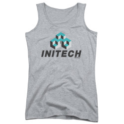 Image for Office Space Girls Tank Top - Initech Logo